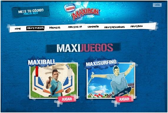 publicidad helados MaxiBon