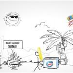Publicidad online helados Nestle