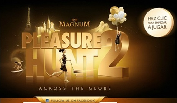 Publicidad online helados Magnum