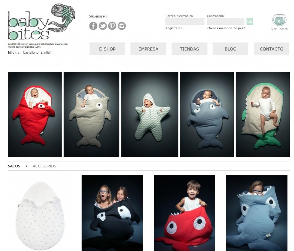 Diseño web Babybites