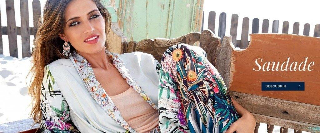 Campaña Saudade Sara Carbonero para Agatha