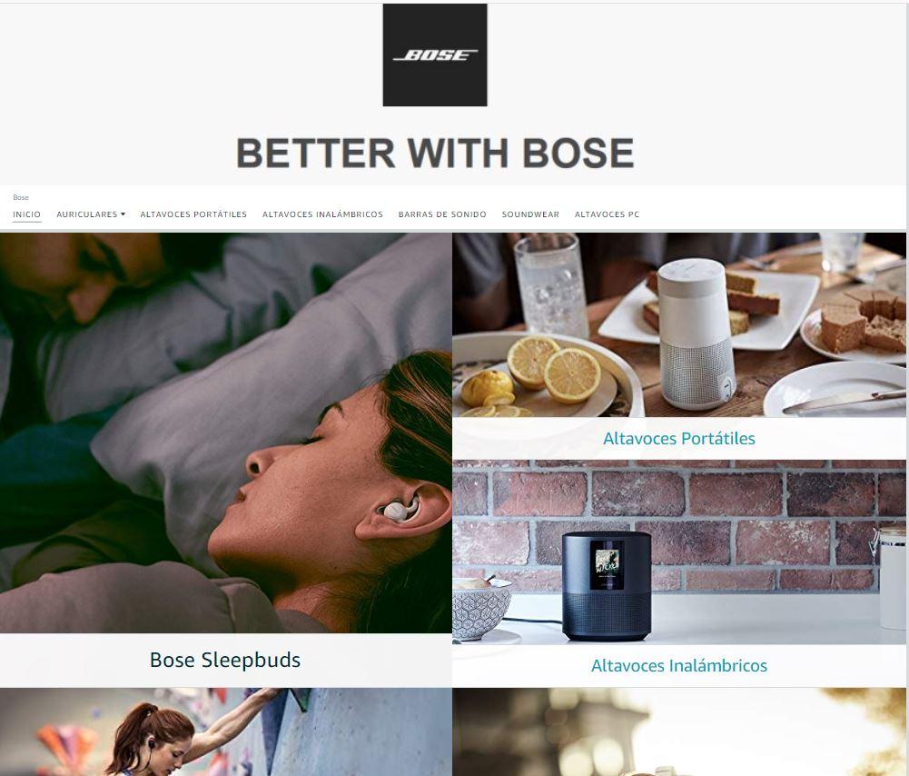 Store Bose Amazon